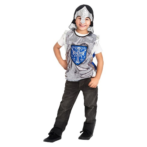 Little Adventures Crusader Vest and Silver Helmet Set - image 1 of 1
