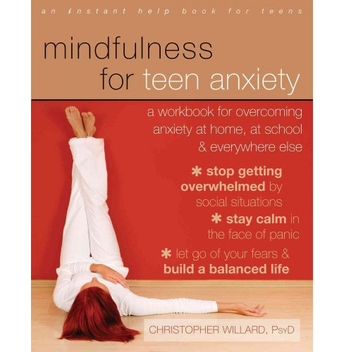 Mindfulness for Teen Anxiety (Paperback) - image 1 of 1