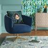 Morpho Swivel Velvet Arm Chair - Opalhouse™ - image 2 of 4