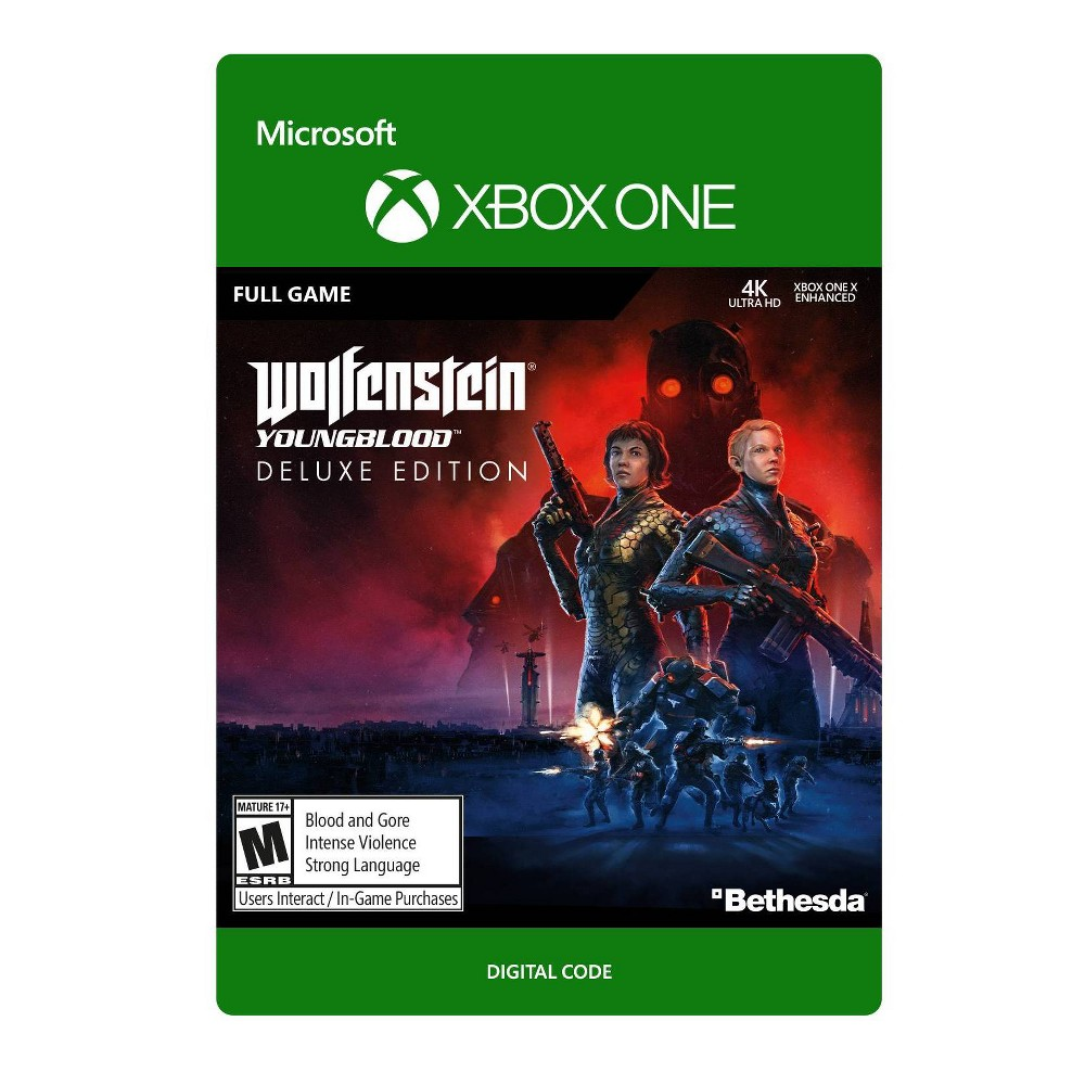 Wolfenstein: Youngblood Deluxe Edition - Xbox One (Digital)