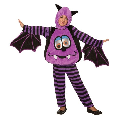 Toddler Wiggle Eyes Bat Halloween Costume 2T - image 1 of 1