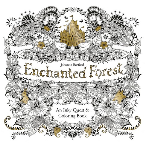enchanted forest coloring pages Enchanted Forest: An Inky Quest And Coloring Book By Johanna  enchanted forest coloring pages