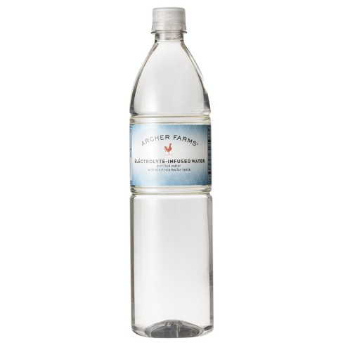 Electrolyte-Infused Water - 1 L Bottle - Archer Farms™ - image 1 of 1
