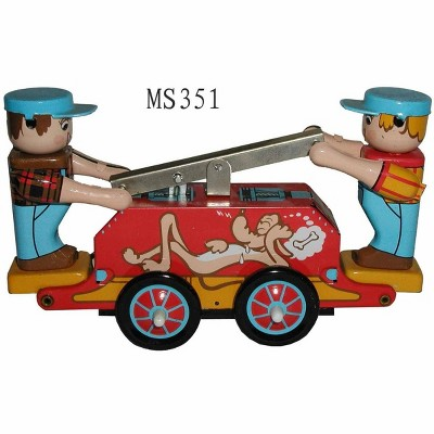 "Heaven Sent Innovation Inc. Vintage Style 5.5"" Tin Railway Cart"