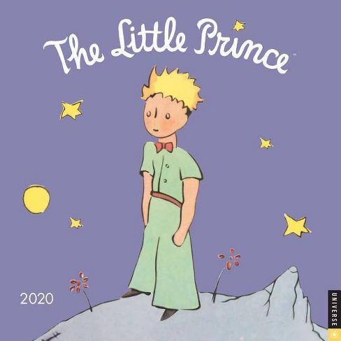 Prince Calendar 2020 The Little Prince 2020 Wall Calendar   By Antoine De Saint Exupery