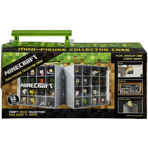 Mattel Minecraft Mini Figure Collector Case