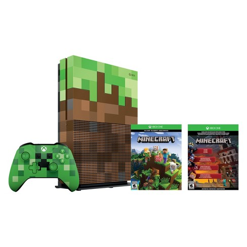 Microsoft Box Only Xbox One S 1tb Minecraft Bundle