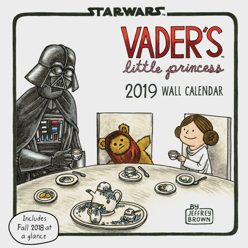 2019 Wall Calendar Vader's Little Princess Star Wars, Multi-Colored