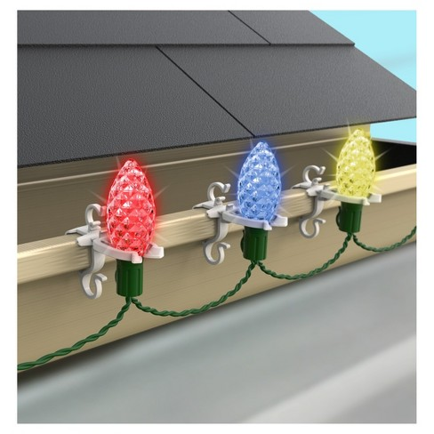 - Adams® 100ct Deluxe Shingle/Gutter String Light Clips : Target