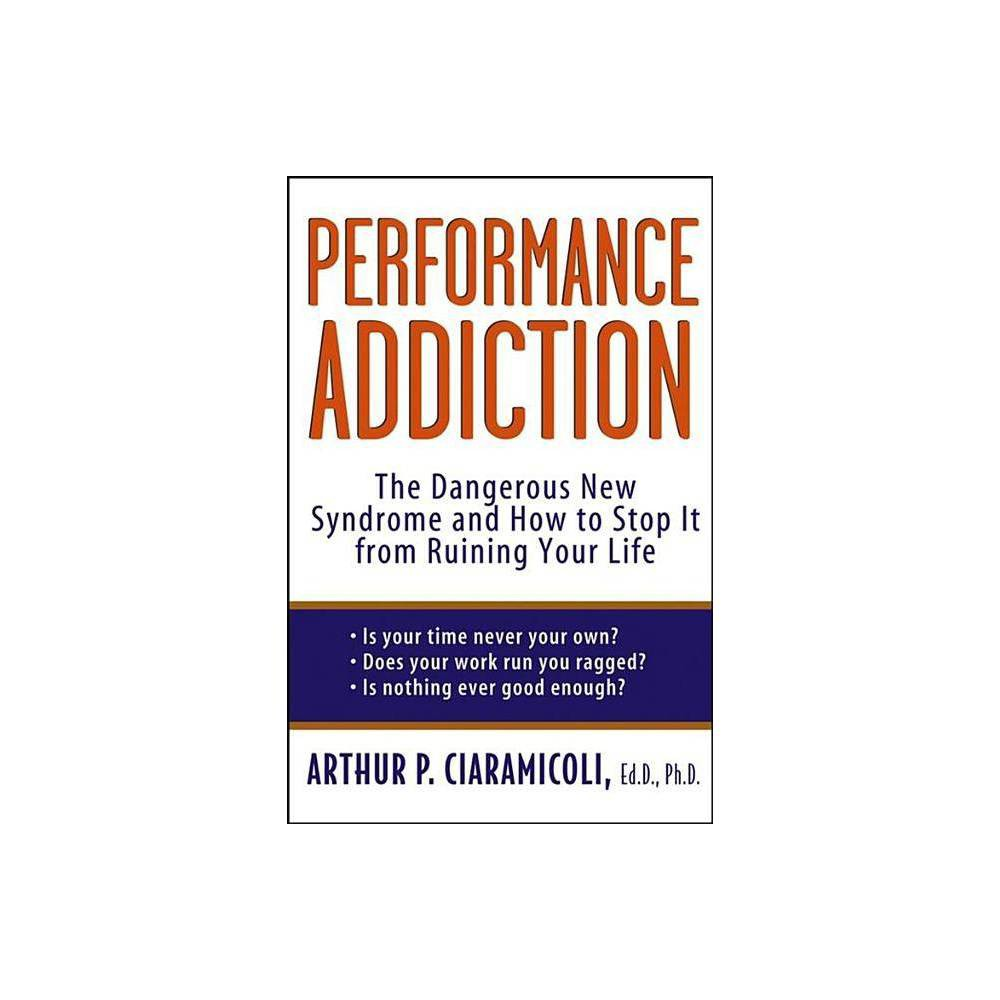 Performance Addiction - by Arthur Ciaramicoli (Paperback) 'The best book I've seen on how we can stop sabotaging our need for balance. Compulsive achievers will find here everything they need to gain the sense of satisfaction that's eluded them. This book is a must-read for men and women struggling with the mystery of why they're not happy. This is a most wise, helpful, and important book, and it's wonderfully readable.' -Mira Kirshenbaum, author of Everything Happens for a Reason and The Emotional Energy Factor 'Every perfectionistic, hypervigilant person wondering why peace of mind is so elusive should read this book. Dr. Ciaramicoli totally nails the issue of performance addiction and offers all the help you need. A life-changing book.' -Dr. Charles Foster, author of Feel Better Fast 'A much-welcome, reader-friendly, utterly unpretentious call to sanity. With clarity and disarming simplicity, Dr. Arthur Ciaramicoli exposes the futility and indeed the harm of our collective compulsive ride on the achievement treadmill. . . . Performance Addiction is a crash course in essential wisdom for today. Read it and give it to anyone about whose mental health and happiness you deeply care.' -P. M. Forni, Professor at Johns Hopkins University and author of Choosing Civility 'Integrating theory with compelling stories from his clinical practice, Dr. Ciaramicoli provides concrete, practical methods to address the growing problem of performance addiction.' -Richard Kadison, M.D. Chief, Mental Health Services, Harvard University Health Services Do you achieve goals without feeling fulfilled? Do you think your hard work will win you love and respect? Do you feel as if you're never doing well enough? In this intriguing and prescriptive guide, Harvard Medical School instructor Dr. Arthur P. Ciaramicoli explains this new psychological issue, revealing the reasons why the label of success so rarely leads to happiness. Performance Addiction gives you action steps for freeing yourself from the obligation to excel, finding new meaning in your work and relationships, and going beyond material reward to obtain genuine, healthy accomplishment throughout your life. Through illuminating self-evaluations and writing exercises, you'll gain a stronger sense of self, learn to balance your work and your personal life, and at long last find the satisfaction that comes from breaking your patterns of addictive behavior and finding new, better ways to accept and give love.