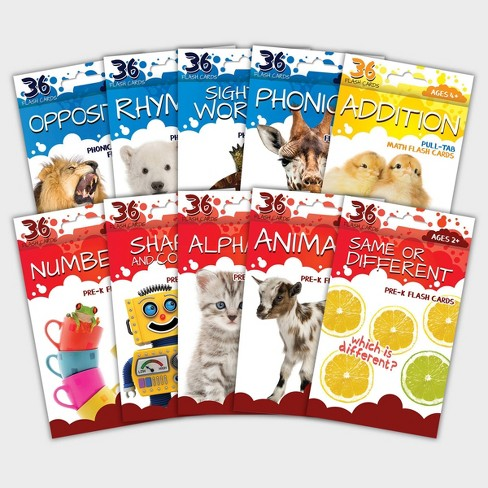 360ct Flashcards for Ages 2-4 - Bendon - image 1 of 4