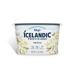 Icelandic Provisions Vanilla Skyr Yogurt - 5.3oz