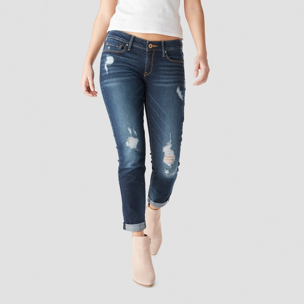 Denizen from Levi's Women's Low-Rise Boyfriend Jeans - (Juniors') Dark Wash 9