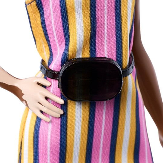 Barbie Fashionistas Stripes Fashion Doll image number null