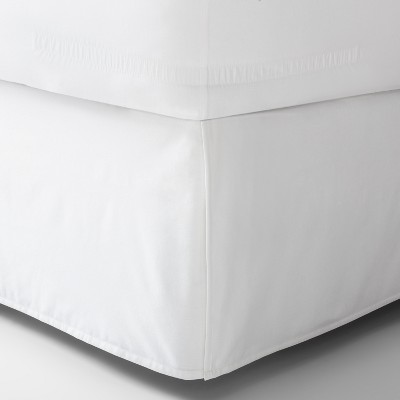 White Solid Bed Skirt (Queen)- Made By Design™
