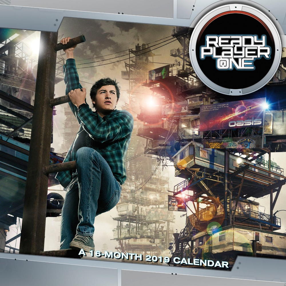 Ready Player One 2019 Wall Calendar, Multi-Colored
