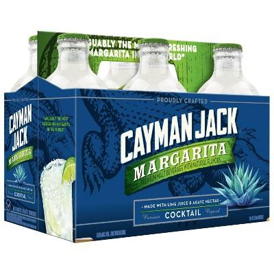 Cayman Jack Margarita Cocktail - 6pk/11.2 fl oz Bottles
