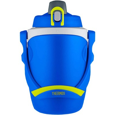 Thermos 64 oz. Foam Insulated Flip-Up Lid Hydration Water Bottle with Carry Handle