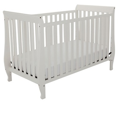 Mikaila Kailyn 4-in-1 Convertible Crib - White