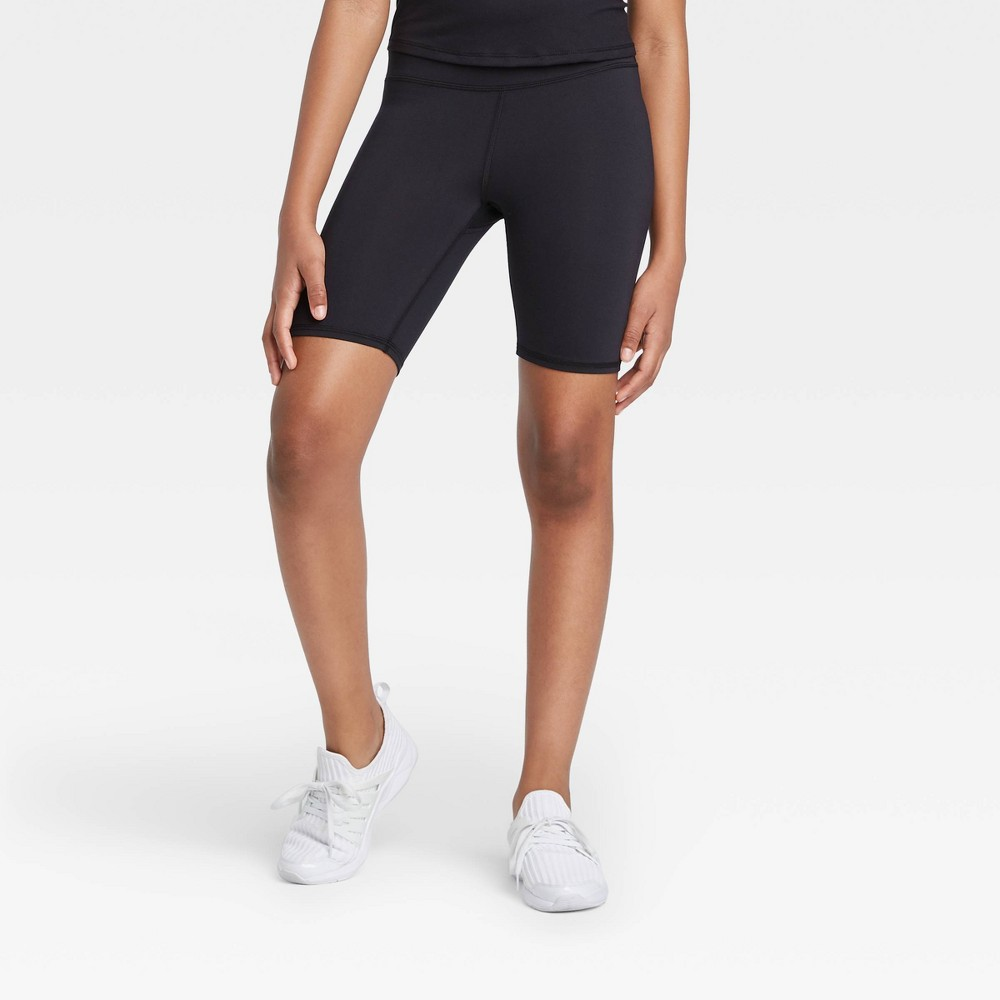Girls 39 Bike Shorts All In Motion 8482 Black M