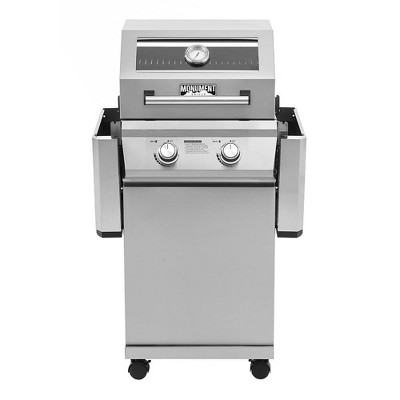 2-Burner Propane Stainless Steel Gas Grill Model 14633 - Monument Grills