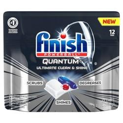 Finish Quantum Ultimate Clean & Shine Dishwasher Detergent Tabs