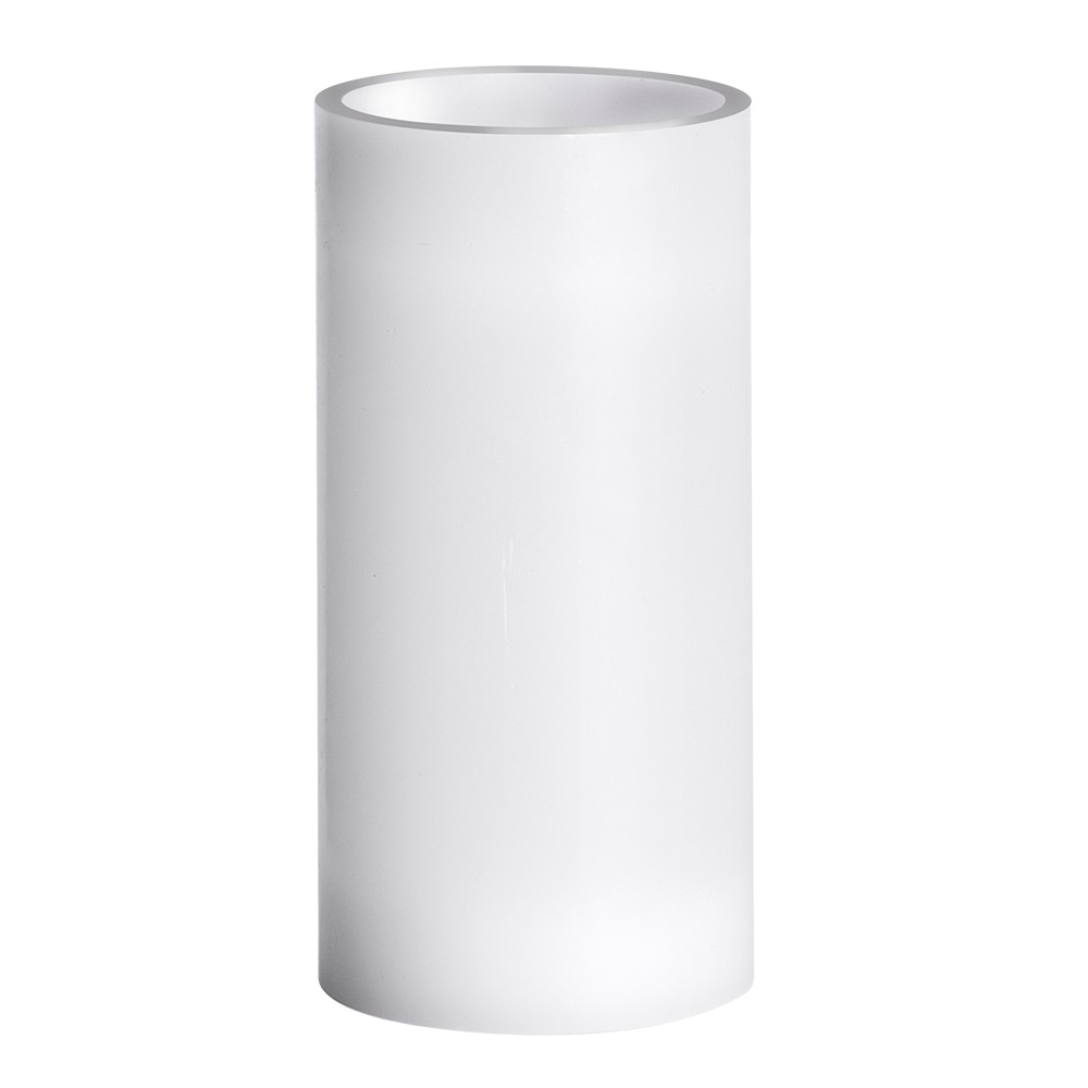 """Image of """"3"""""""" x 6"""""""" Vanilla Scented LED Pillar Candle White - Made By Design"""""""