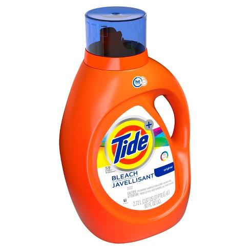 Tide Original Plus Bleach Alternative High Efficiency