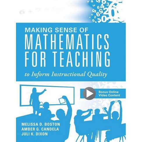 Making Sense of Mathematics for Teaching to Inform Instructional Quality - (Paperback) - image 1 of 1
