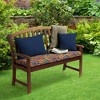 DriWeave Disco Floral Outdoor Bench Cushion - Arden - image 2 of 2