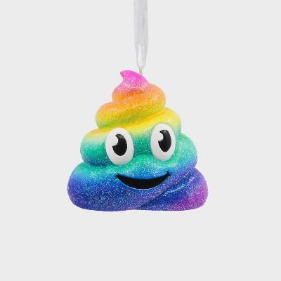 Hallmark Rainbow Emoticon Christmas Tree Ornament