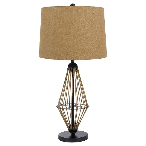 Cal Lighting Imperial Tiffany Metal Table Lamp with Glass Shade - image 1 of 2