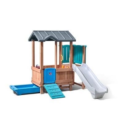 Step2 Woodland Adventure Playhouse & Slide