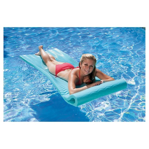 Poolmaster Soft Tropic Comfort Mattress - Aqua Marine - image 1 of 4