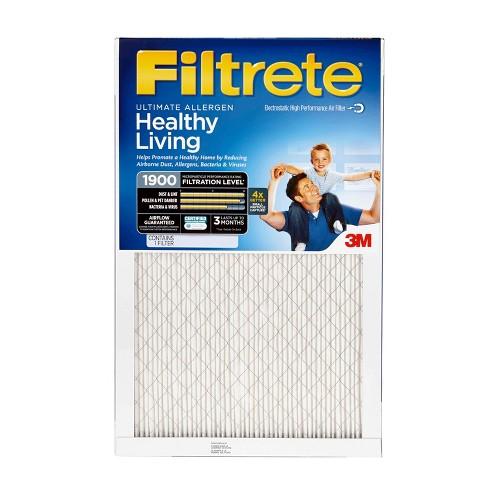 filtrete™ ultimate allergen 20x20, air filter : target