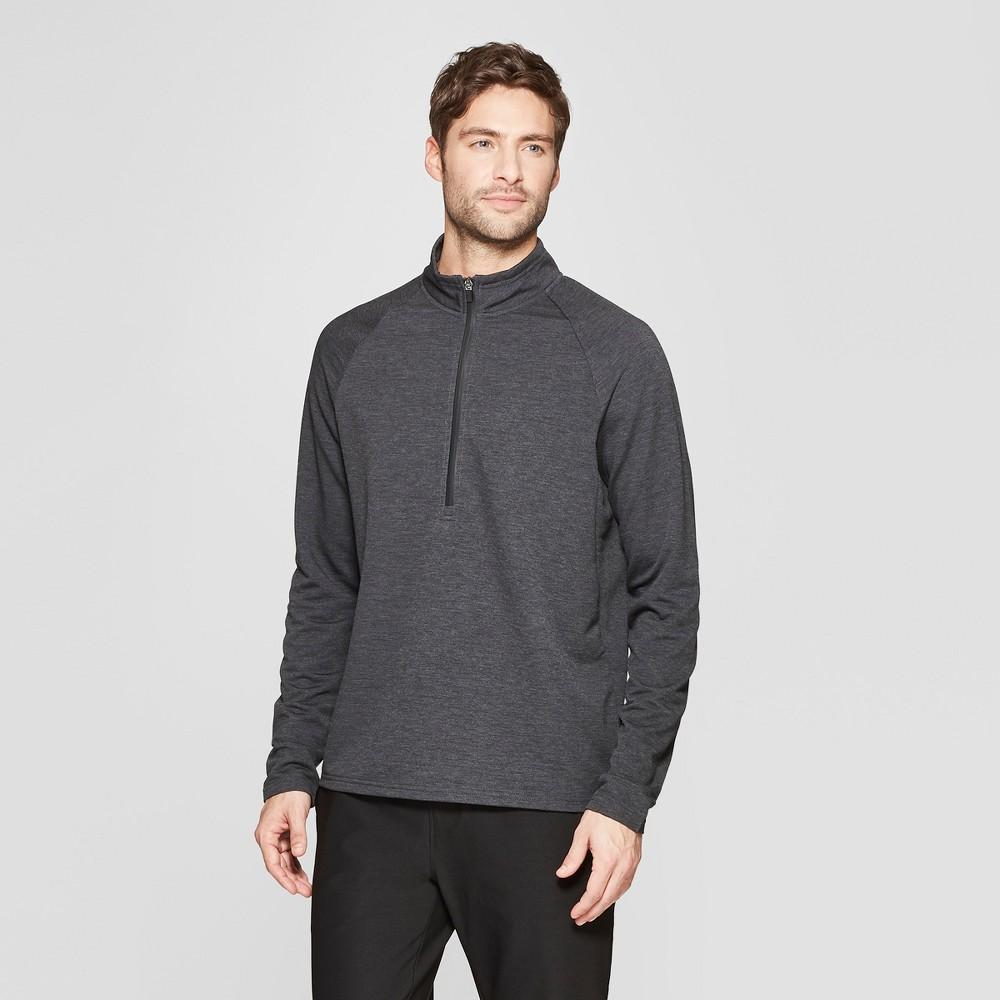 Mpg Sport Men's 1/2 Zip Pullovers - Smoke Gray M
