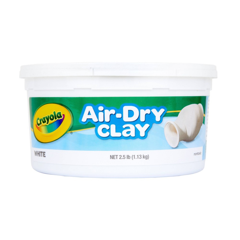 Image of Crayola Air Dry Clay 2.5lbs White