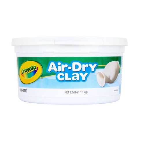 Crayola Air Dry Clay 2.5lbs White - image 1 of 4