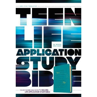 Teen Life Application Study Bible NLT - (Leather Bound)