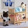 Calico Critters Tuxedo Cat Family - image 2 of 3