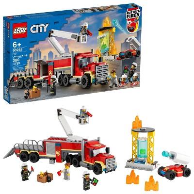 LEGO City Fire Command Unit Building Kit 60282