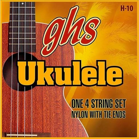 GHS H-10  Hawaiian Ukulele Black Nylon Strings - image 1 of 1