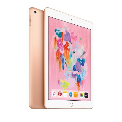 Apple iPad 9.7-inch 32GB Wi-Fi Only (2018 Model, 6th Generation, MRJN2LL/A)- Gold