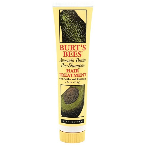 Burt's Bees Avocado Butter Pre-Shampoo Hair Treatment - 4.34 fl oz - image 1 of 2