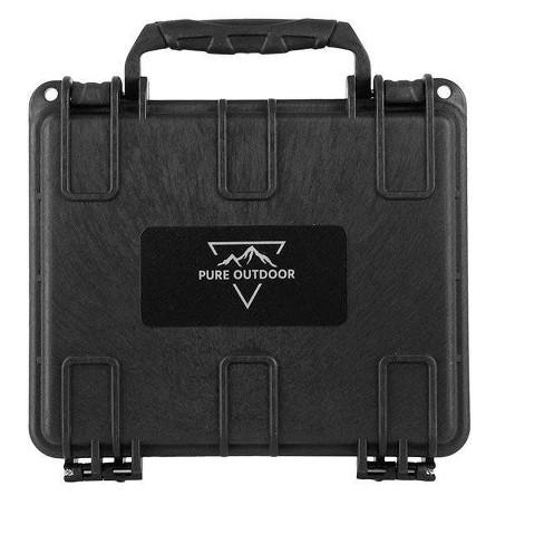 "Monoprice Weatherproof Hard Case with Customizable Foam 7/"" x 6/"" x 2/"""