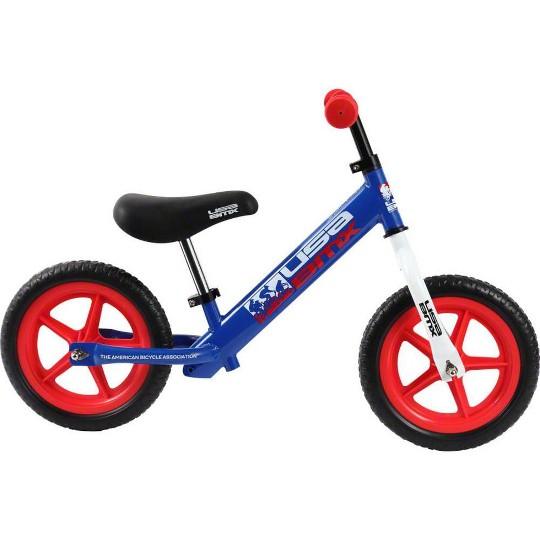 KaZAM USA BMX Balance Bike: Blue/Red image number null