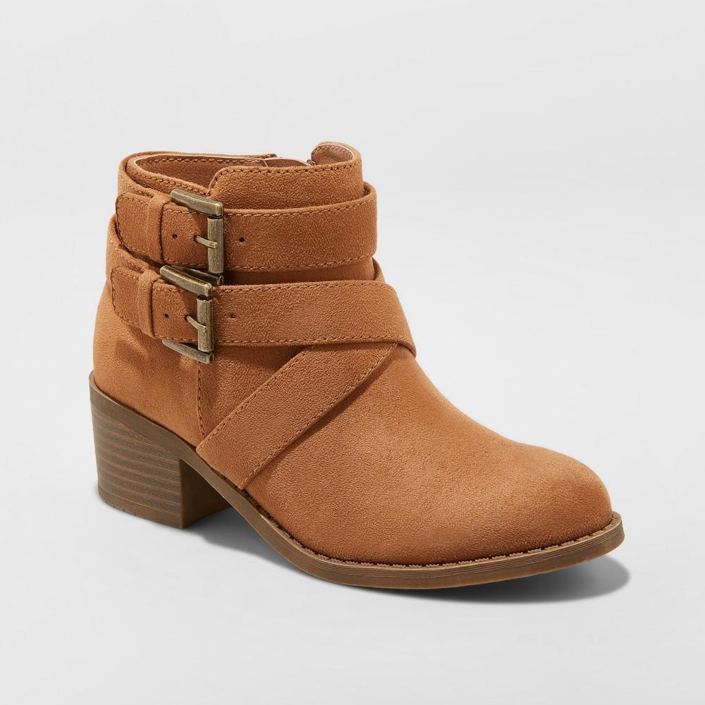 Girls' Maeko Buckle Boots - art class Chestnut (Brown) 4