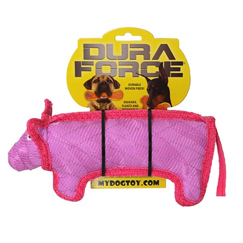 Dura Force Dog Toy - Pink - 0.5lb - image 1 of 4