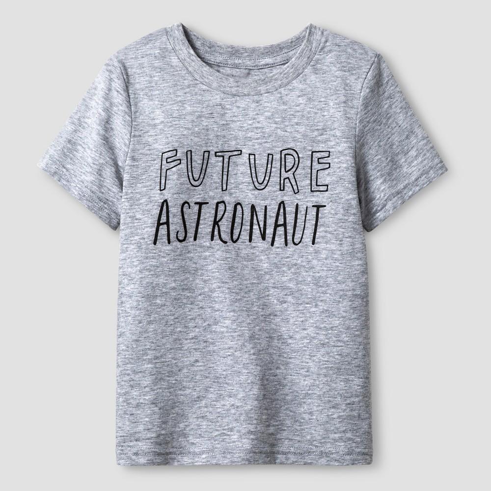 Toddler 'Future Astronaut' Graphic T-Shirt - Cat & Jack Gray 6, Toddler Unisex