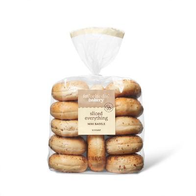 Mini Everything Bagels - 16oz/12ct - Favorite Day™